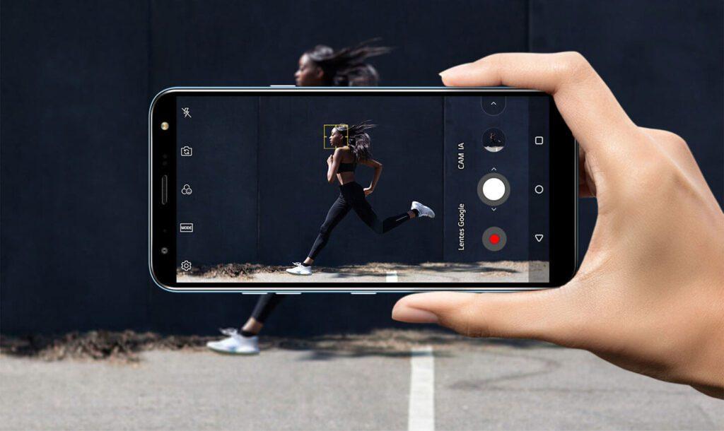LG K12+ Câmera