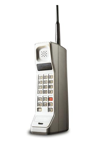 Motorola DynaTAC 8000X foi o primeiro celular do mundo